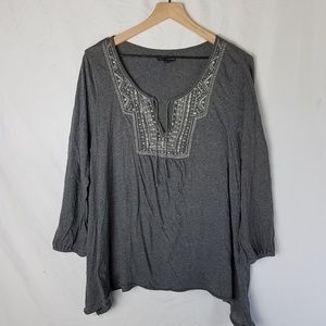 American Eagle Outfitters Tunic Embroidered XL